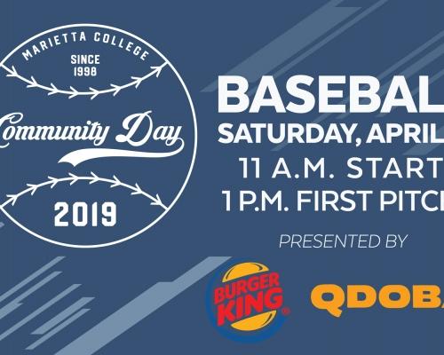 Baseball Community Day promo
