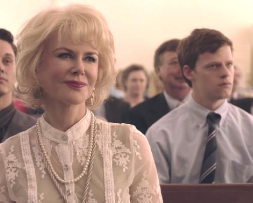 Nicole Kidman and Boy Erased movie image