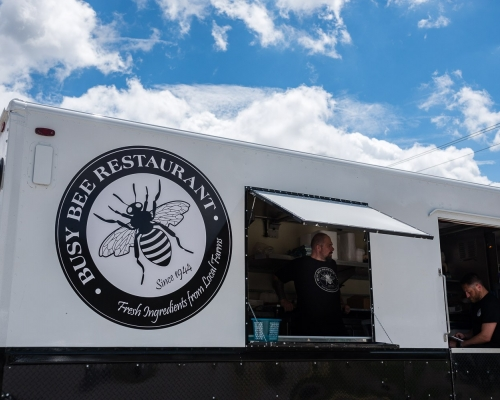 Busy Bee food truck