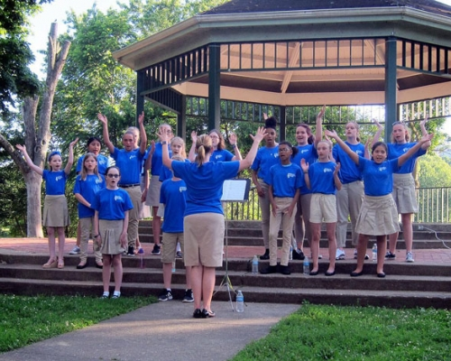 Children's Choir at Muskingum Park