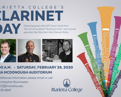 Clarinet Day poster
