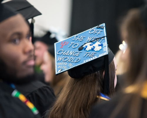 Graduation photo from 2016