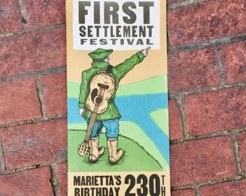First Settlement Festival poster