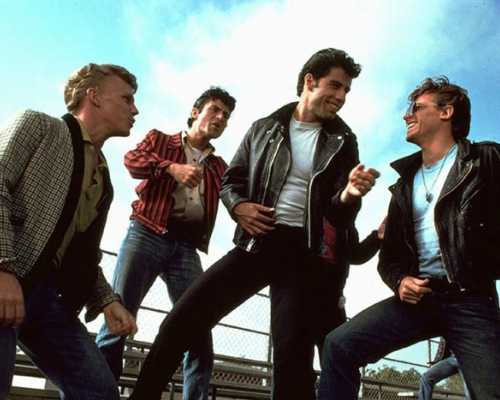 The guys from the movie Grease