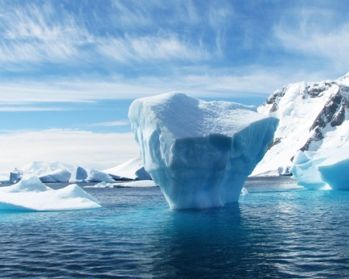 Iceberg at daylight