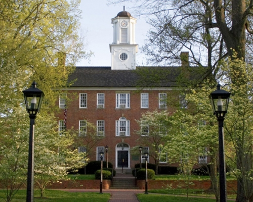 Ohio University's Cutler Hall