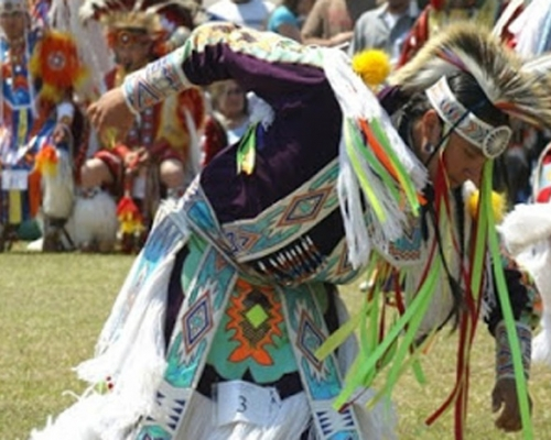 Piscataway Nation Dancer