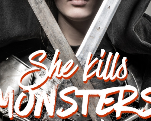 She Kills Monsters logo