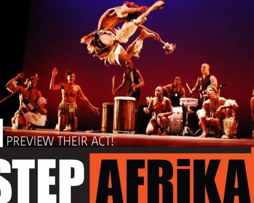 Step Afrika poster