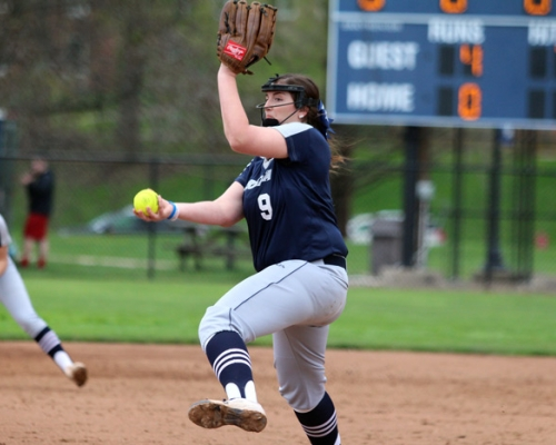 Marietta softball pitcher