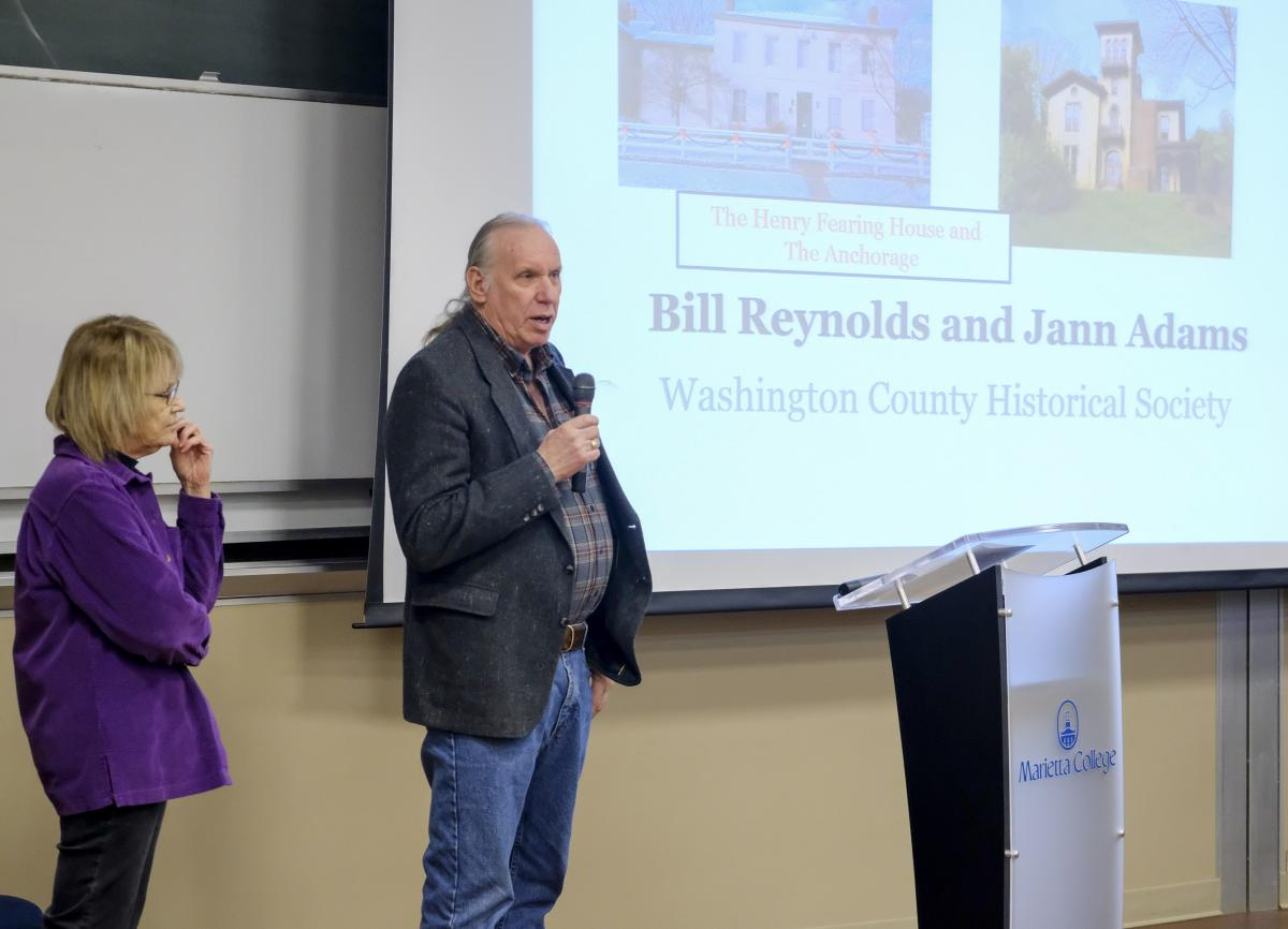 William Reynolds Speaks in January at the Marietta College PioPitch event